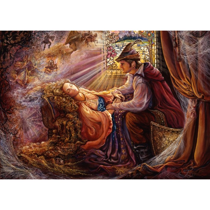 Josephine Wall - Sleeping Beauty Puzzle 1000 pieces
