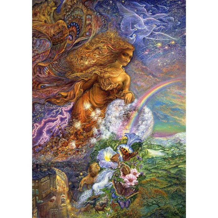 Josephine Wall - Wind of Change Puzzle 1500	pieces