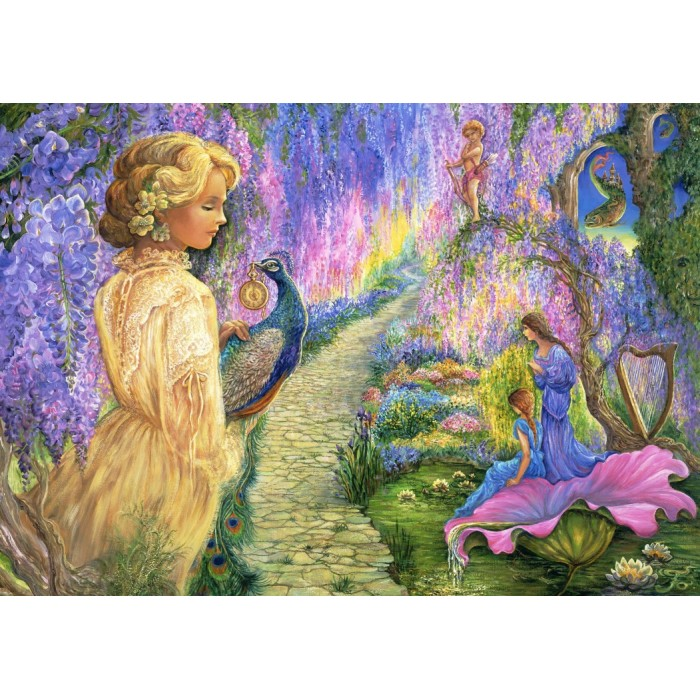 Josephine Wall - Wisteria Way Puzzle 1500	pieces