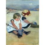 Puzzle   Mary Cassatt: Children Playing on the Beach, 1884