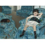 Puzzle   Mary Cassatt: Little Girl in a Blue Armchair, 1878