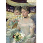 Puzzle   Mary Cassatt: The Loge, 1882