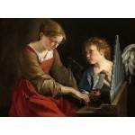 Puzzle   Orazio Gentileschi and Giovanni Lanfranco: Saint Cecilia and an Angel, 1617/1618