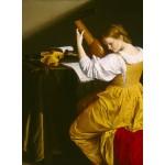 Puzzle   Orazio Gentileschi: The Lute Player, 1612/1620