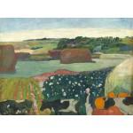 Puzzle   Paul Gauguin: Haystacks in Brittany, 1890