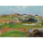 Puzzle   Paul Gauguin : Landscape at Le Pouldu, 1890