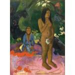 Puzzle   Paul Gauguin: Parau na te Varua ino (Words of the Devil), 1892