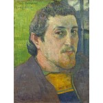 Puzzle   Paul Gauguin: Self-Portrait Dedicated to Carrière, 1888-1889