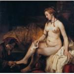 Puzzle   Rembrandt - Bathsheba at Her Bath, 1654