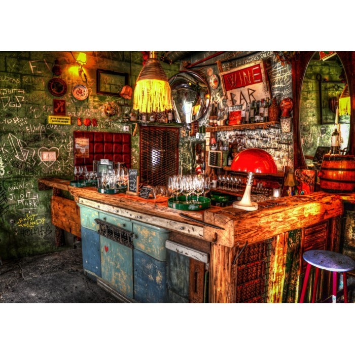 Ruin Bar in Budapest Puzzle 1000pieces