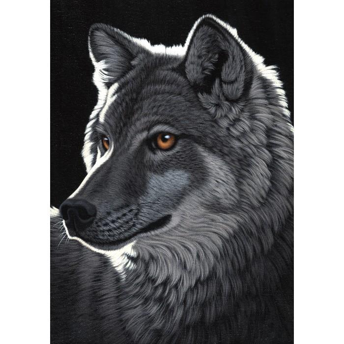 Schim Schimmel - Night Wolf Puzzle 1000 pieces