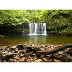 Puzzle   Sgwd Clun-Gwyn Waterfall near Neath