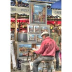 Puzzle   Street Artist, Paris, France