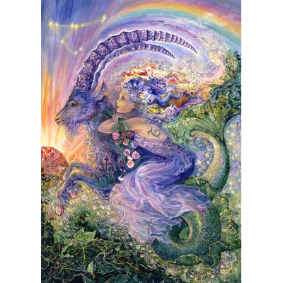 Puzzle Grafika-T-00030 Zodiac Sign - Capricorn