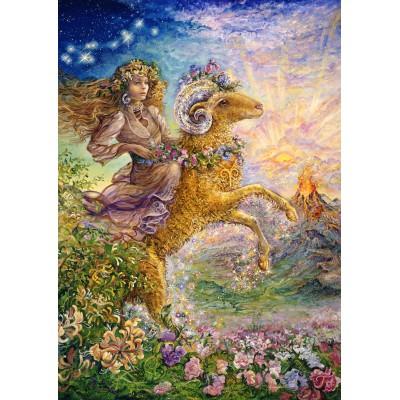 Puzzle Grafika-T-00031 Zodiac Sign - Aries