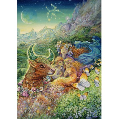 Puzzle Grafika-T-00033 Zodiac Sign - Taurus