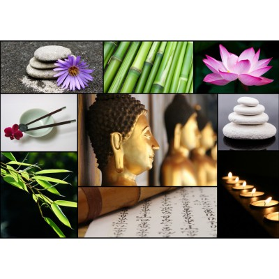 Puzzle Collage Zen Atmosphere Grafika T 00044 1000