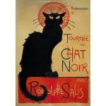 Puzzle  Grafika-T-00073 Théophile Alexandre Steinlen - Tournée du Chat Noir
