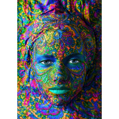 Puzzle Grafika-T-00082 Face Art: Portrait of woman
