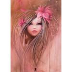 Puzzle  Grafika-T-00107 Misstigri: Sweet Pinky Girl