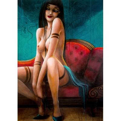 Kailena strips to naked