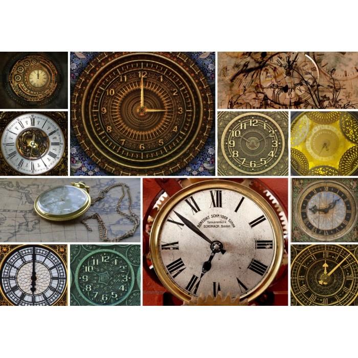 Collages - Clocks