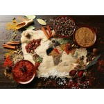 Puzzle  Grafika-T-00145 World map in Spices
