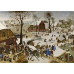 Puzzle  Grafika-T-00147 Brueghel Pieter: Numbering at Bethlehem