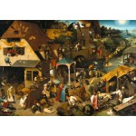 Puzzle  Grafika-T-00152 Brueghel Pieter: The Dutch Proverbs, 1559