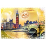 Puzzle  Grafika-T-00197 Travel around the World - United Kingdom