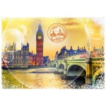 Puzzle  Grafika-T-00198 Travel around the World - United Kingdom