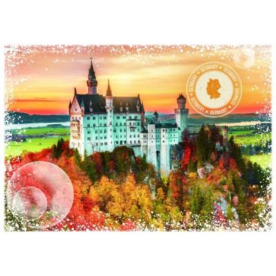 Puzzle Grafika-T-00199 Travel around the World - Germany