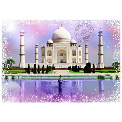 Puzzle Grafika-T-00202 Travel around the World - India