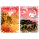 Puzzle  Grafika-T-00206 Travel around the World - Africa, Egypt and Kenya