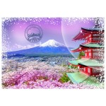 Puzzle  Grafika-T-00207 Travel around the World - Japan