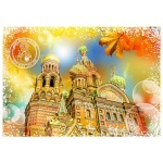 Puzzle  Grafika-T-00213 Travel around the World - Russia