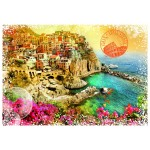 Puzzle  Grafika-T-00215 Travel around the World - Italy