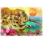 Puzzle  Grafika-T-00216 Travel around the World - Italy
