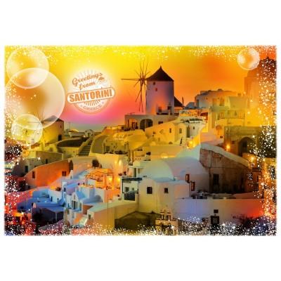 Puzzle Grafika-T-00219 Travel around the World - Greece