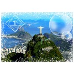 Puzzle  Grafika-T-00228 Travel around the World - Brazil