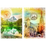 Puzzle  Grafika-T-00235 Travel around the World - Austria and Switzerland