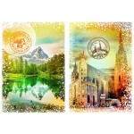 Puzzle  Grafika-T-00236 Travel around the World - Austria and Switzerland