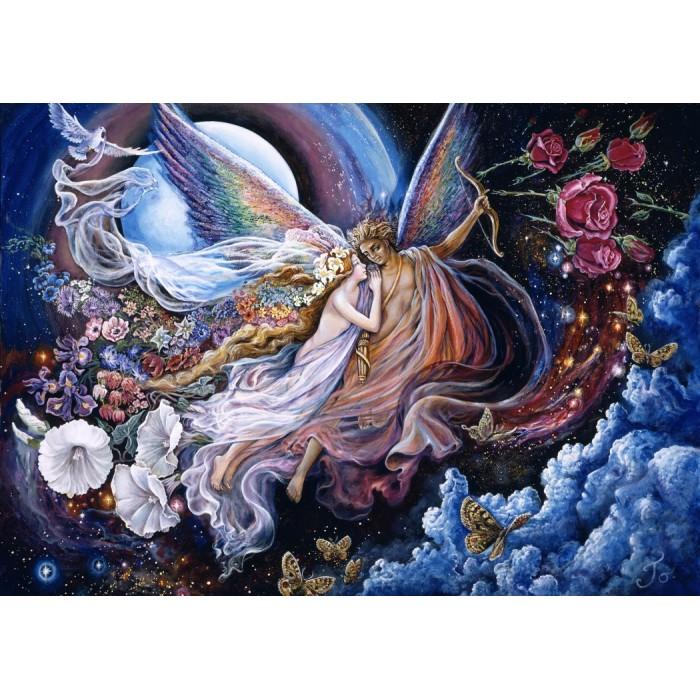 Josephine Wall - Eros and Psyche