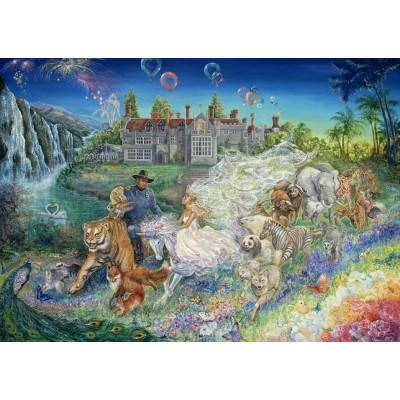 Puzzle Grafika-T-00255 Josephine Wall - Fantasy Wedding