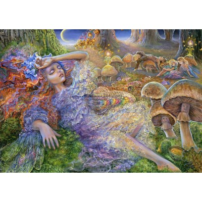 Puzzle Grafika-T-00289 Josephine Wall - After The Fairy Ball
