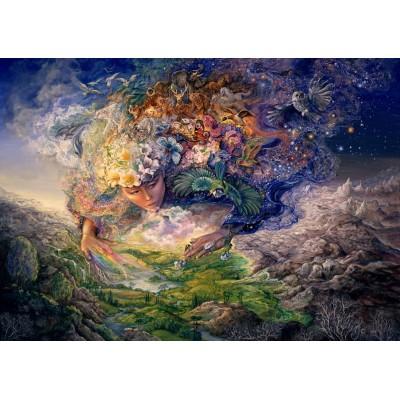 Puzzle Grafika-T-00296 Josephine Wall - Breath of Gaia