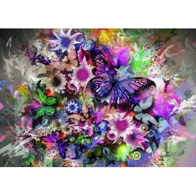 Puzzle Grafika-T-00313 Butterflies