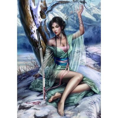 Puzzle Grafika-T-00317 Cris Ortega - Frozen