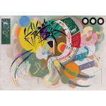 Puzzle  Grafika-T-00324 Wassily Kandinsky - Dominant Curve, 1936