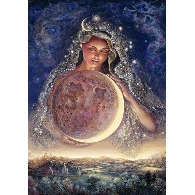 Puzzle Grafika-T-00349 Josephine Wall - Moon Goddess